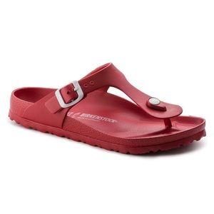 Birkenstock Gizeh Essentials Eva Sandal Red